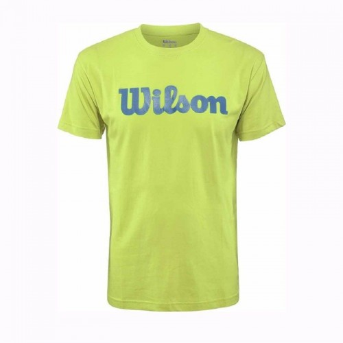 Ανδρική Μπλούζα - Wilson Script Cotton Men's Tee - WRA747802