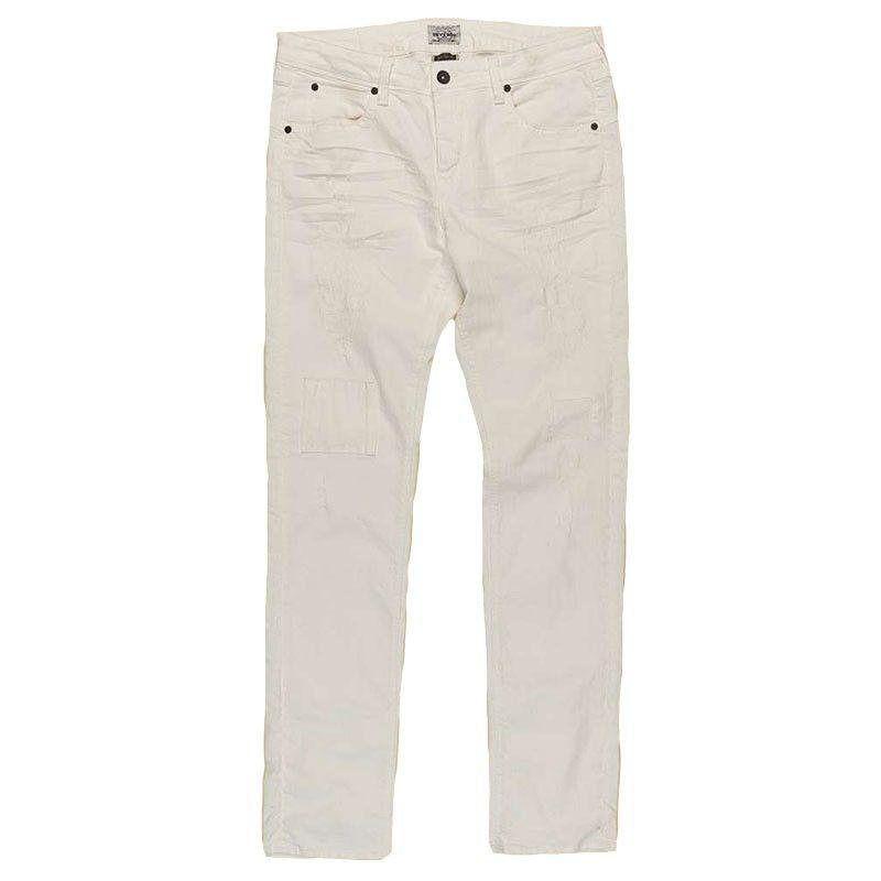 Ανδρικό Jean Παντελόνι - Devergo Slim Fit Λευκό - 1J710020LP2820