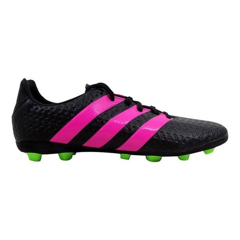 Adidas Ace 16.4 FxG J 'Black Pink Green' - AF5036