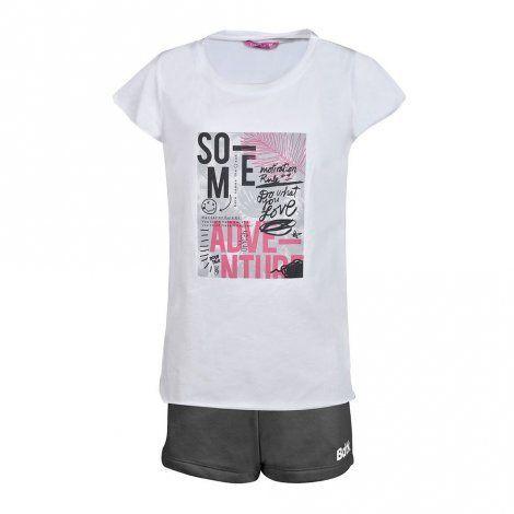 Παιδικό Σετ - BodyTalk Σετ με κοντομάνικο t-shirt με σχέδιο και shorts - 1191-704099-00200