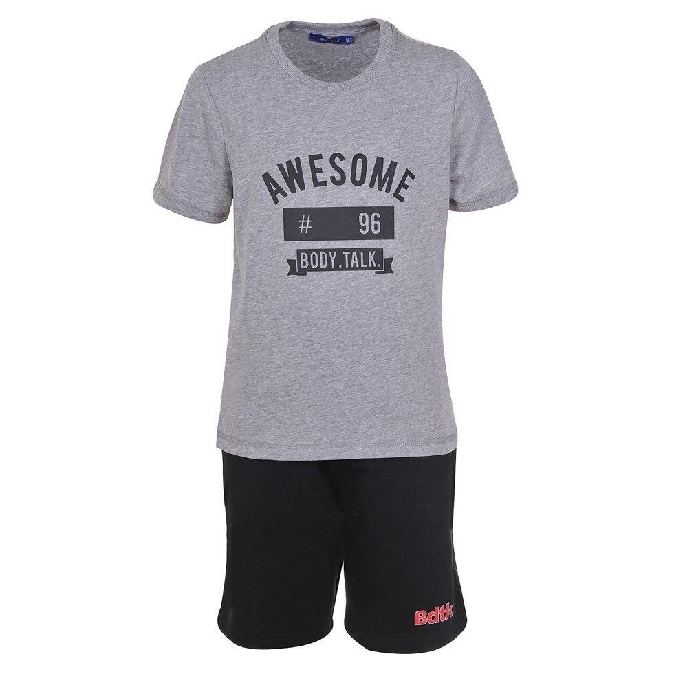 Παιδικό Σετ - BodyTalk Σετ t-shirt με βερμούδα για αγόρια - 1191-752199-54680