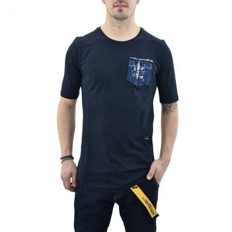 Ανδρική Μπλούζα - Cover Indian Μπλε Σκούρο - Y101