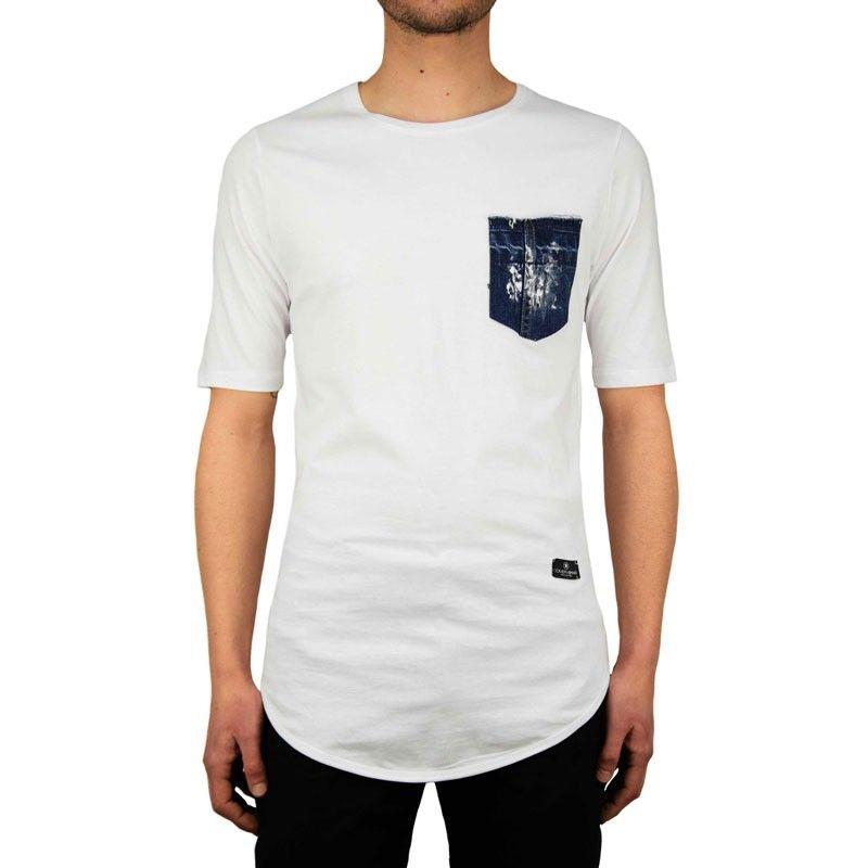 Ανδρική Μπλούζα - Cover Indian Λευκό - Y101