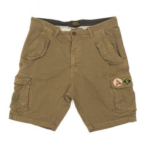 Ανδρική Βερμούδα - Devergo Ferfi Shorts Καφέ - 1D911004MP6106