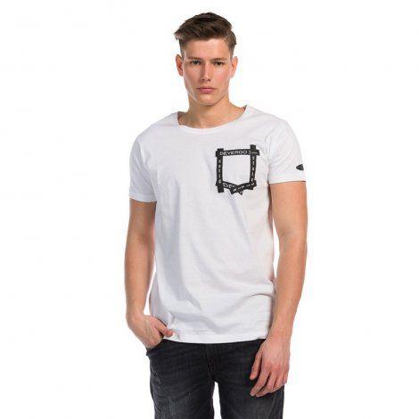 Ανδρική Μπλούζα - Devergo Long Fit T-Shirt - 1D914030SS0105