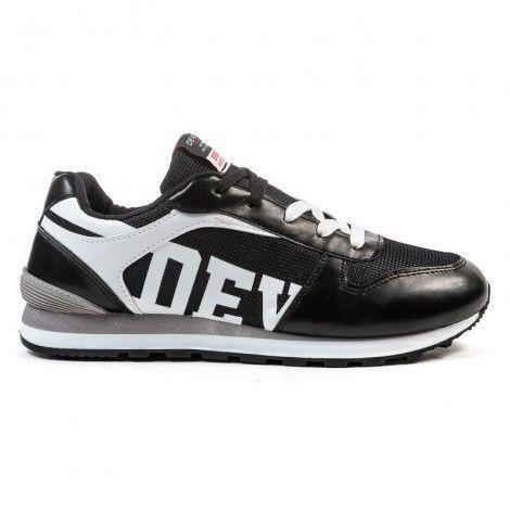 Ανδρικά Παπούτσια - Devergo Sneaker Μαύρο - DE-AH4006ME