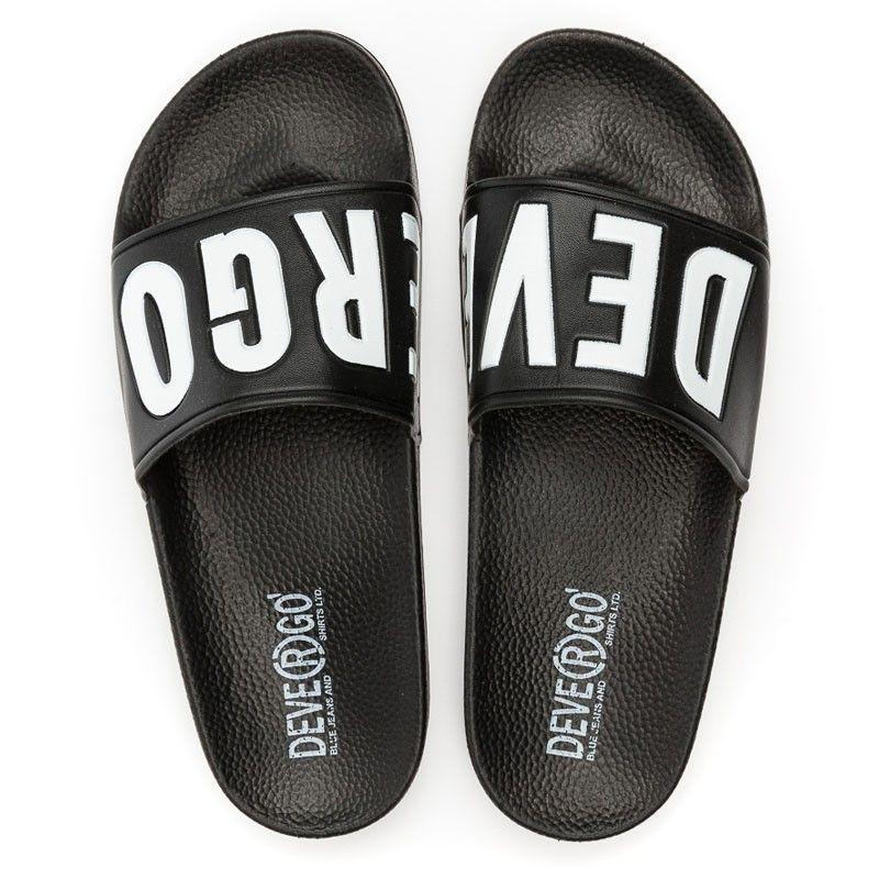 Γυναικείες Παντόφλες - Devergo Slippers Caravella Μαύρο - DE-RE2526PU