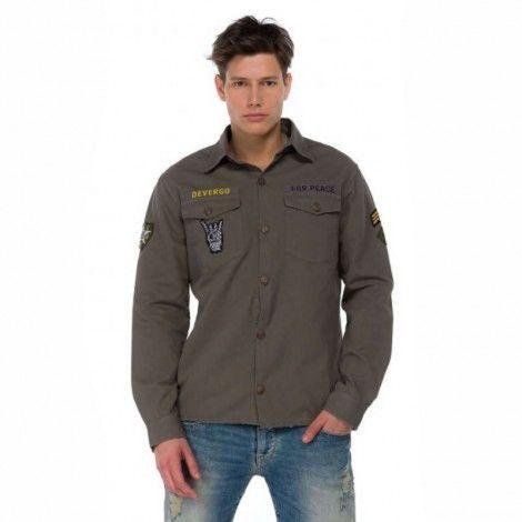 Ανδρικό Πουκάμισο - Devergo Shirt - 1D915001LS1305