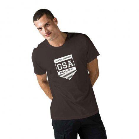 Ανδρική Μπλούζα - GSA Mens T-shirt Graphic Tee Glory Μαύρο - 3719001