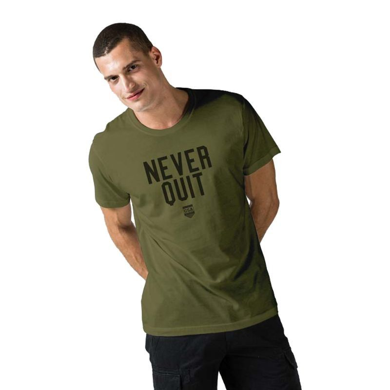 Ανδρική Μπλούζα - GSA Mens T-shirt Graphic Tee Glory Χακί - 3719001