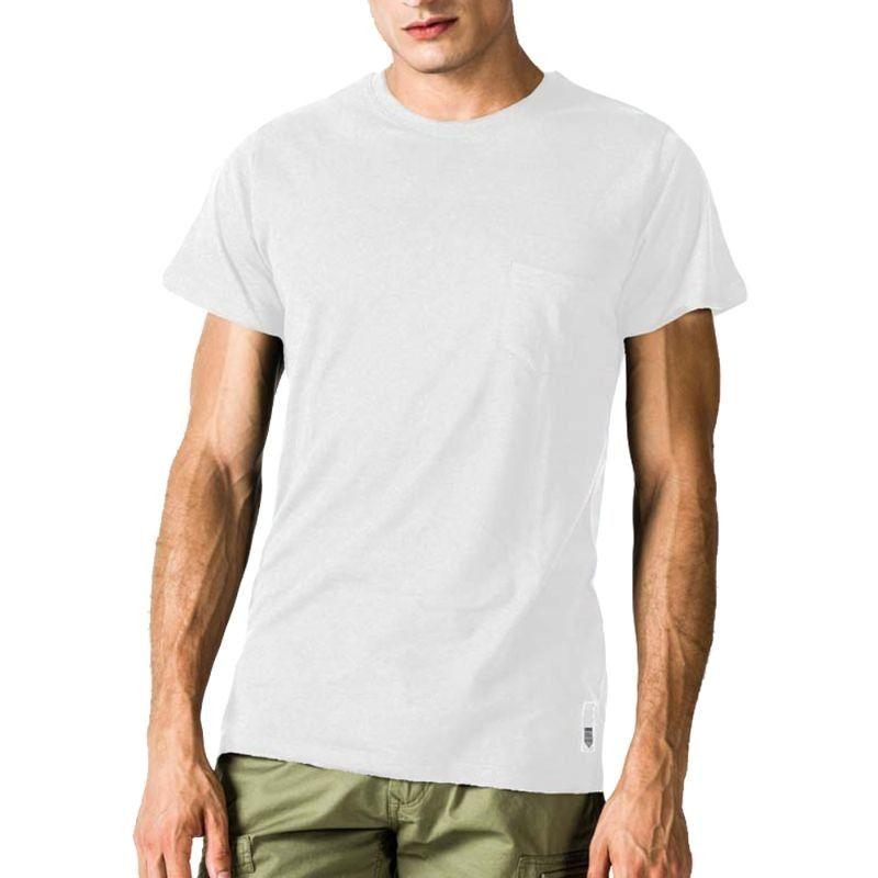 Ανδρική Μπλούζα - GSA Mens T-shirt Classic with Pocket Λευκό - 3719002