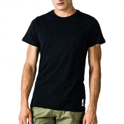 Ανδρική Μπλούζα - GSA Mens T-shirt Classic with Pocket Μαύρο - 3719002