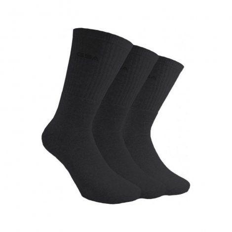 Ανδρικές Κάλτσες - GSA Socks Πακέτο των 3 Μαύρο - 8181003-01