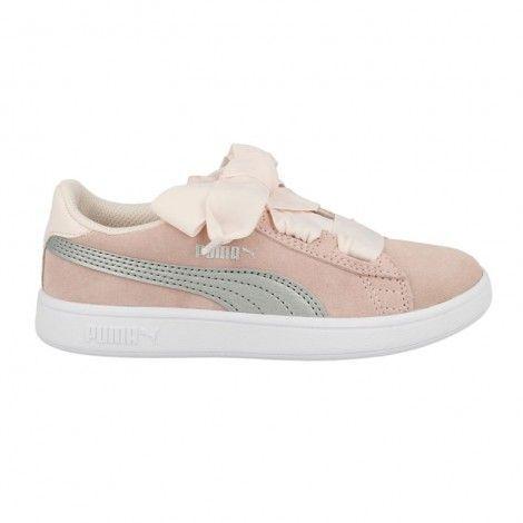 Παιδικά Παπούτσια - Puma Shoe Smash V2 Ribbon Ac PS - 366004-02