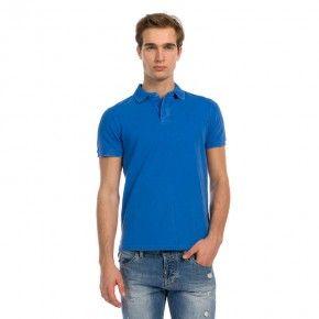 Ανδρική Μπλούζα - Devergo Polo Shirt Μπλε - 1D914070SS2406