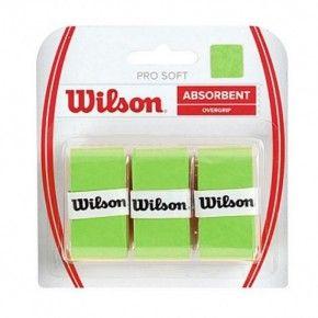 Ταινία Ρακέτας - Wilson Pro Soft Overgrips Πακέτο των 3 - WRZ4040-LI