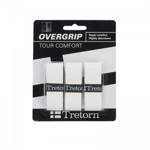 Ταινία Ρακέτας - Wilson Tretorn Tour Comfort Overgrips Πακέτο των 3 - 474348