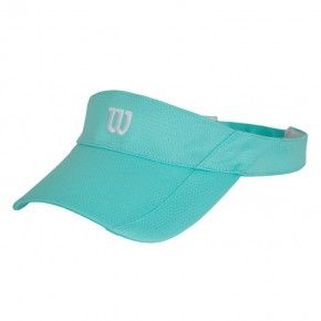 Γυναικείο Καπέλο - Wilson Rush Knit Visor Ultralight Turkuaz - WR5005004