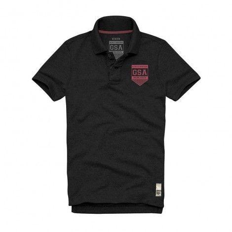 Ανδρική Μπλούζα - GSA Glory Polo Shirt Μαύρο - 3718012