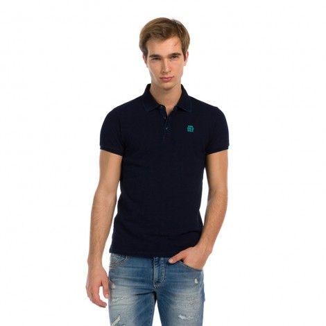 Devergo Polo Shirt Μπλε Σκούρο - 1D914039SS2425