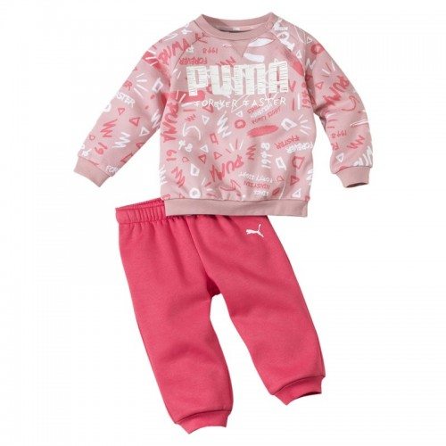 Puma Minicats Babies' All-Over Print Jogger Set - 580307-14
