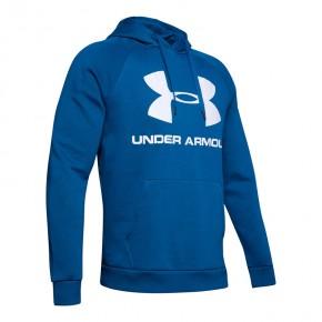Under Armour Rival Fleece Logo Hoodie - 1345628-417