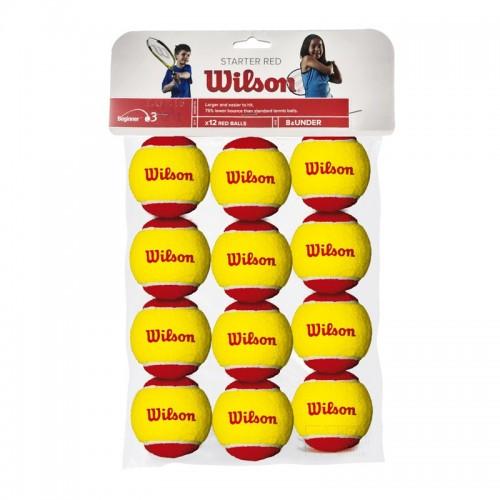 Μπαλάκια Τέννις - Wilson Starter Red 12τμχ - WRT137100