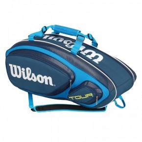 Τσάντα Τέννις - Wilson Tour V 9-Pack Tennis Bags - WRZ843609