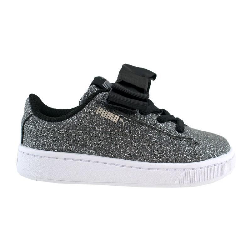 Βρεφικά Παπούτσια - Puma Vikky V2 Ribbon Glitz AC - 370635-01