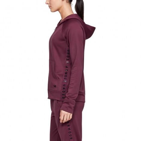 Γυναικεία Ζακέτα - Under Armour Tech Terry Full Zip Hoodie - 1344487-569