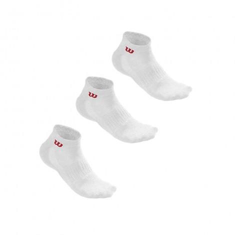 Ανδρικές Κάλτσες - Wilson Quarter Men's Πακέτο των 3 - WRA512700