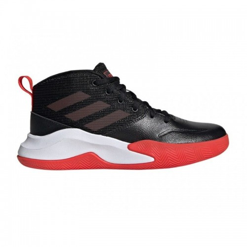 Adidas Ownthegame K Wide Cblack Actred Ftwwht - EF0309