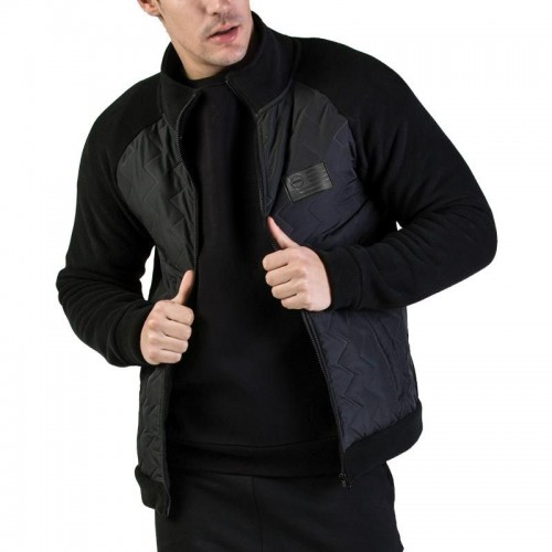 GSA Heat Pollar Fleece Semi Padded Jacket - 17-18127 Black