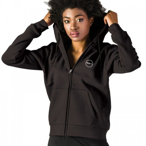 GSA Supercotton Zipper Hoodie - 17-28032 Black