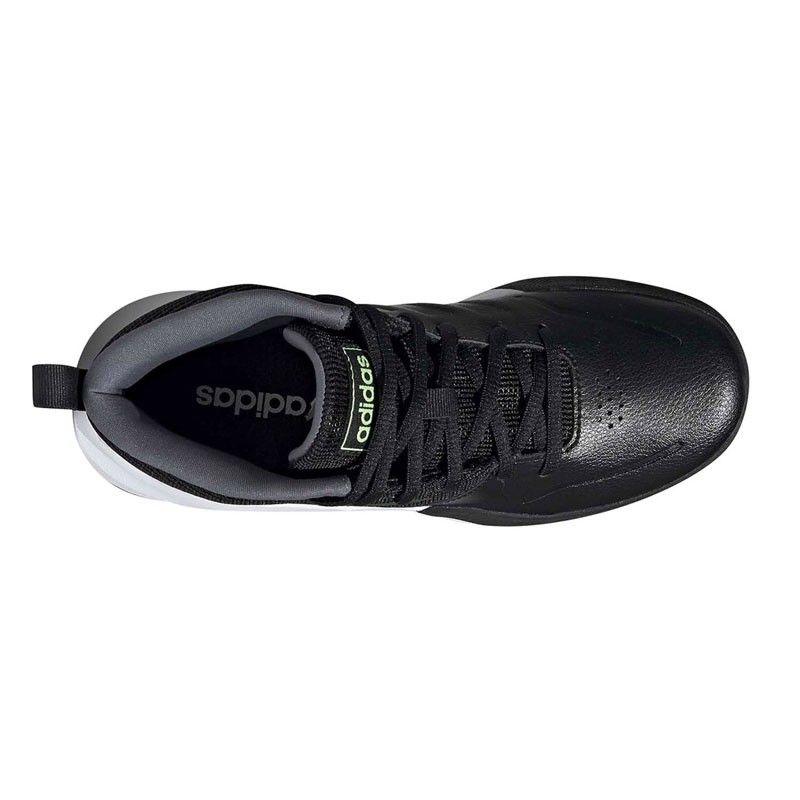 Adidas Ownthegame K Wide Cblack Hireye Onix - EF0308