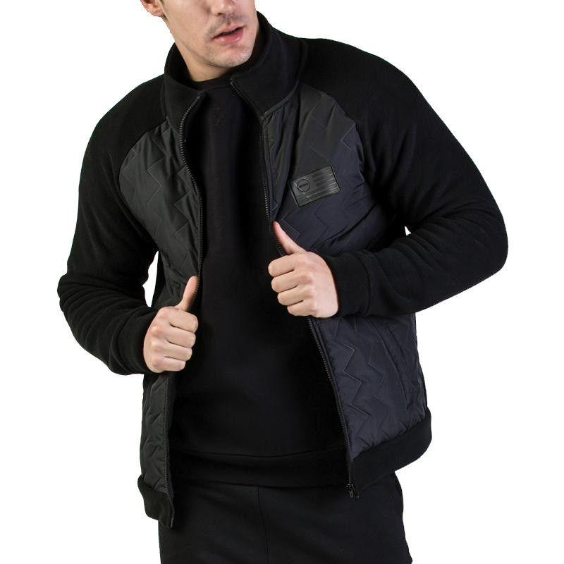 GSA Heat Pollar Fleece Semi Padded Jacket - 17-18127 Black