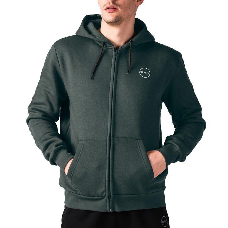 GSA Men Basic Jacket - 17-17026 Charcoal M.