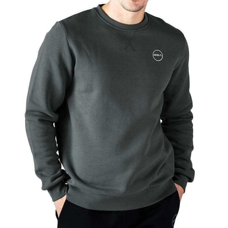 GSA Sweatshirt Supercotton Men Basic - 17-17025 Charcoal