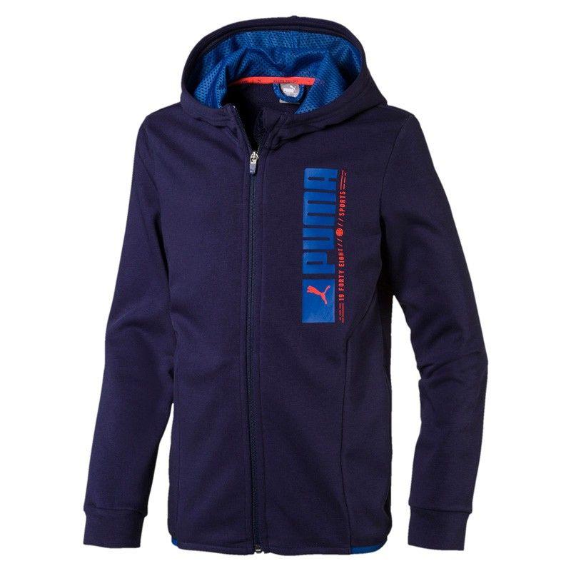 Puma Active Sports Hooded Jacket TR - 580251-06
