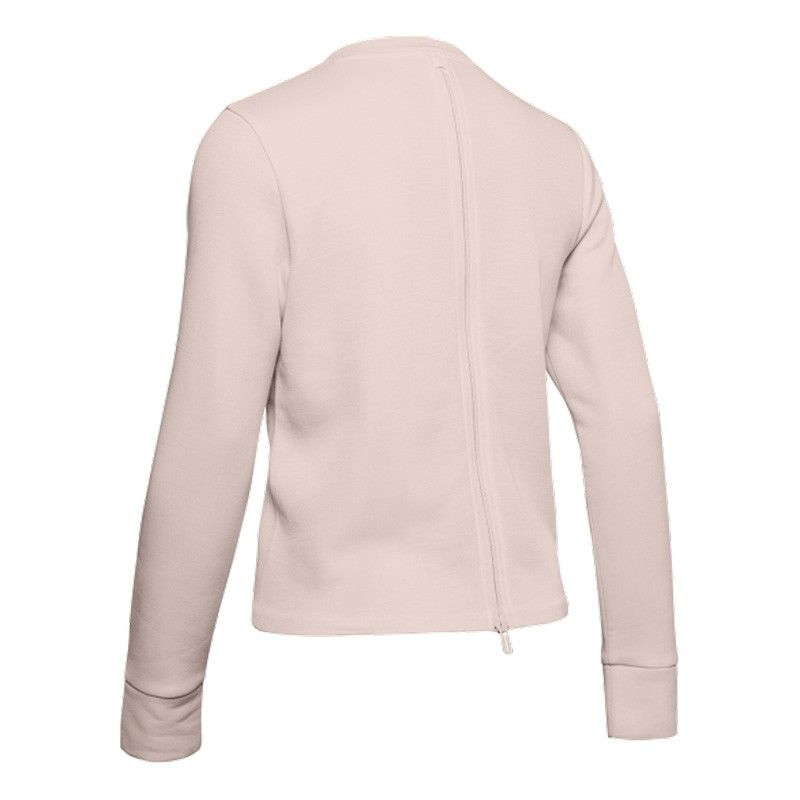 Under Armour Unstoppable Move Light Radial Back Pleat Crew - 1344159-675