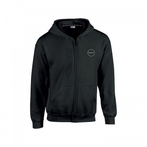 GSA Supercotton Zipper Hoodie - 17-38007 Black