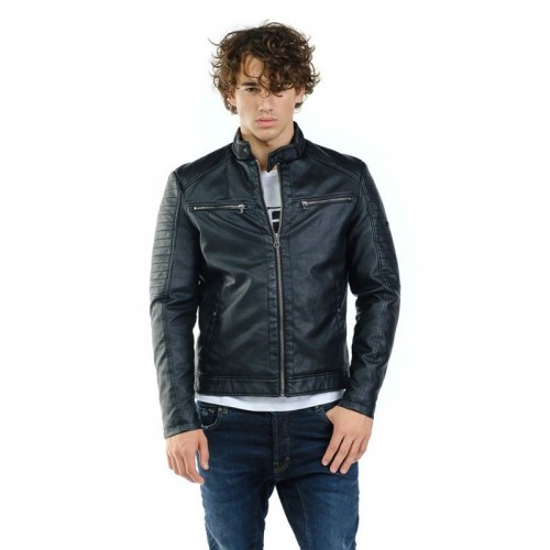 Devergo Men's Biker Jacket - 1D923033KA9000-16