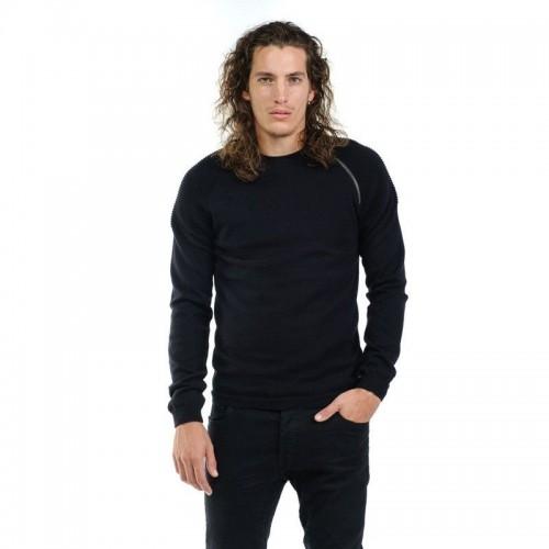 Devergo Men's Knitted Jumper - 1D926012LS0100-16