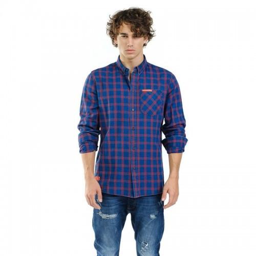 Devergo Men's Shirt - 1D925013LS1301-40