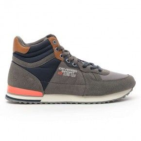 Devergo Men's Streetwear Shoes Philip - DE-HI4050NY 19FW Grey