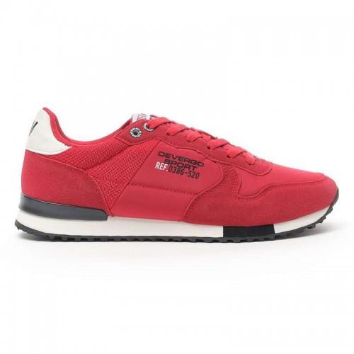 Devergo Men's Streetwear Tyron Streetwear - DE-HI4006NY 19FW Red
