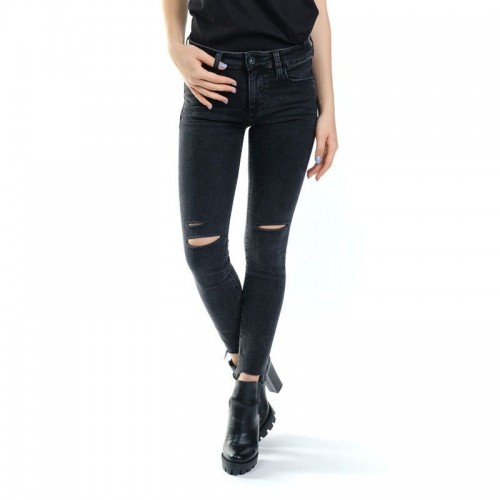 Devergo Women Slim-fit Black Jeans - 2J920525LP6350ST-0