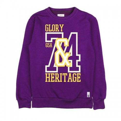 GSA Men Glory Crew Neck - 37-19107 Purple