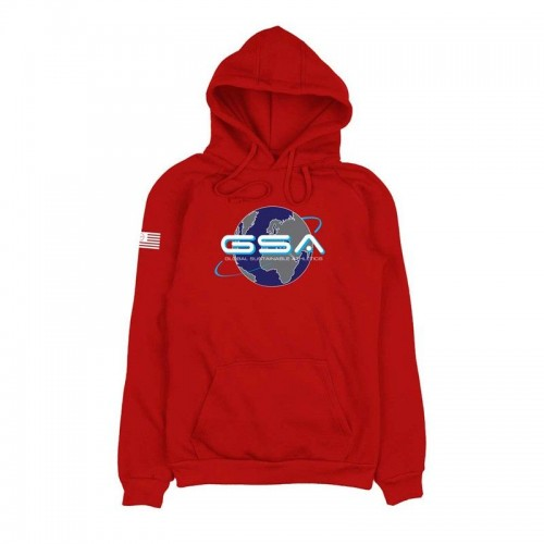 GSA Earth Hoodie - 1719204-47 Red