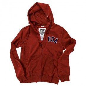 GSA Glory Zipper Hoodie - 37-18109 Orange